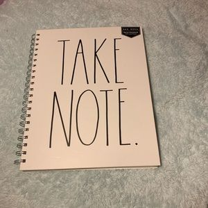 Rae Dunn note book